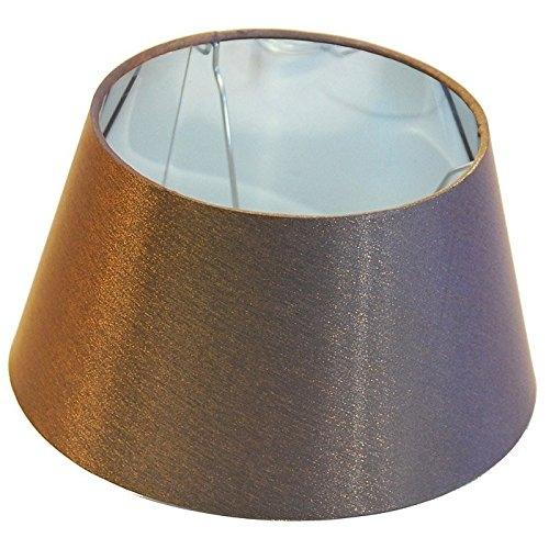 Light & Living Lampenschirm ESTEBAN Bronze glänzend, rund Ø 20cm, für Tischlampe geeignet